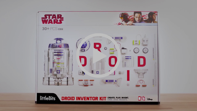 littleBits Star Wars Droid Inventor Kit - Promo Video