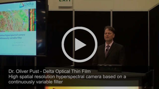 170128 High spatial resolution hyperspectral camera based on a continuously variable filter